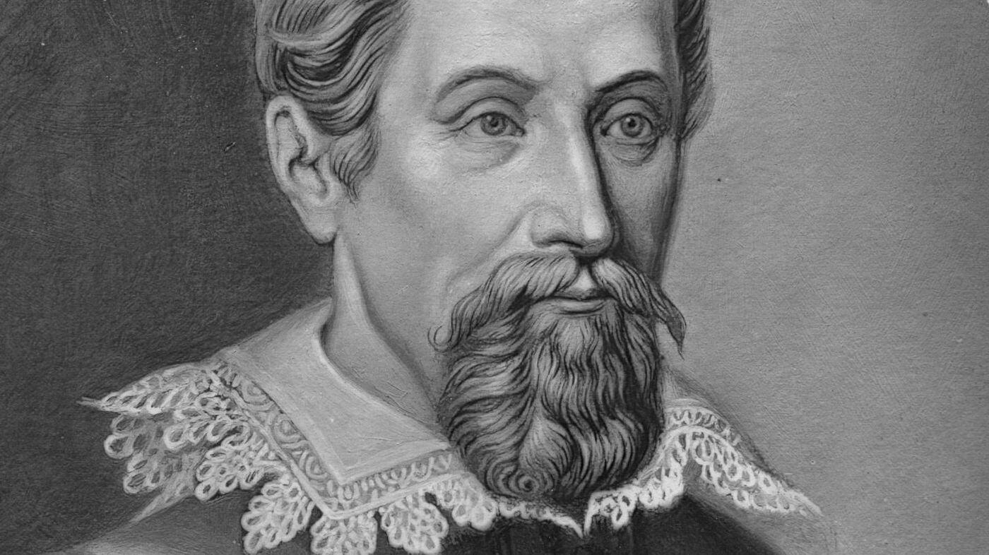 Circa 1612, German astronomer Johannes Kepler (1571 - 1630)