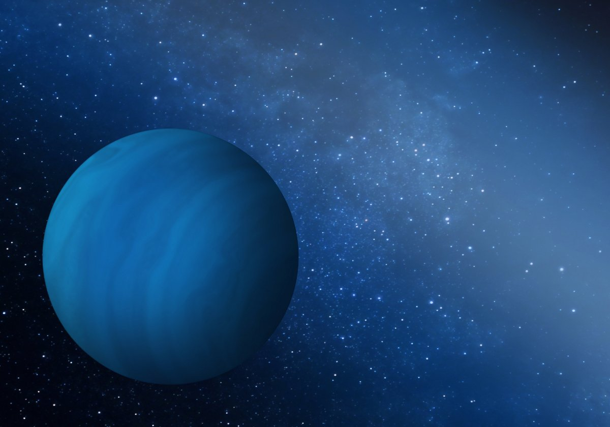 Neptun, blizniacza planeta Urana - Astrowiedza